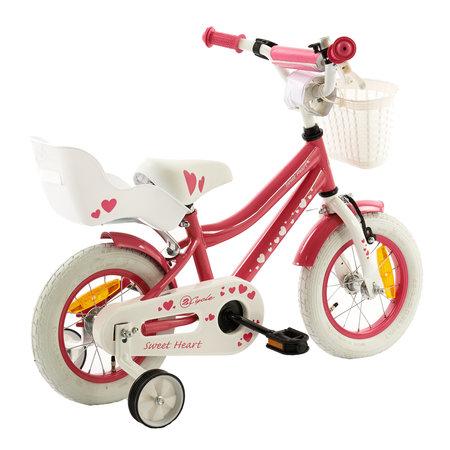 2Cycle 2Cycle Sweet Kinderfiets - 12 inch - Poppenzitje - Roze