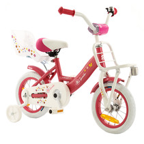 2Cycle Magic Kinderfiets - 12 inch - Poppenzitje - Roze