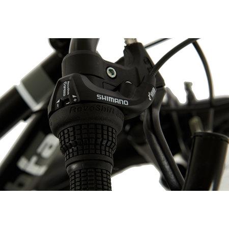 2Cycle 2Cycle Cobra MTB - 24 inch - 18-speed - Mat-Zwart - 2e - Copy