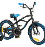 2Cycle 2Cycle Cruiser Kinderfiets - 16 inch-Zwart-Blauw