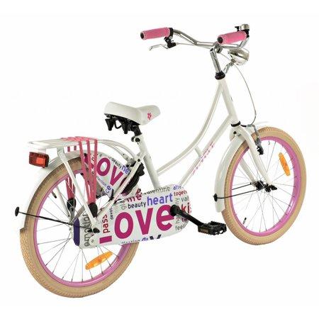 2Cycle Omafiets 20 inch Love (2062) -2e