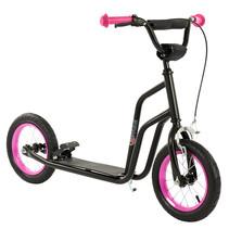 2Cycle Scooter - Luftreifen - 12 Zoll - Schwarz-Pink