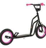 2Cycle 2Cycle Scooter - Luftreifen - 12 Zoll - Schwarz-Pink