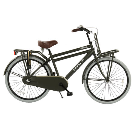 2Cycle 2Cycle Transportfiets - 26 inch - Mat-Grijs - 3-Speed - 2e