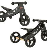 2Cycle 2Cycle 2 in 1 Laufrad / Dreirad - Holz - Schwarz