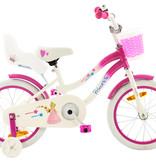 Princess 2Cycle Princess Kinderfiets -16 inch - Poppenzitje