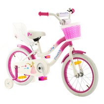 2Cycle Princess Kinderfiets -16 inch - Poppenzitje
