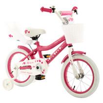 2Cycle Sweet Kinderfiets - 14 inch - Poppenzitje - Roze