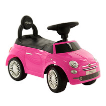 Fiat 500 Loopauto - Roze