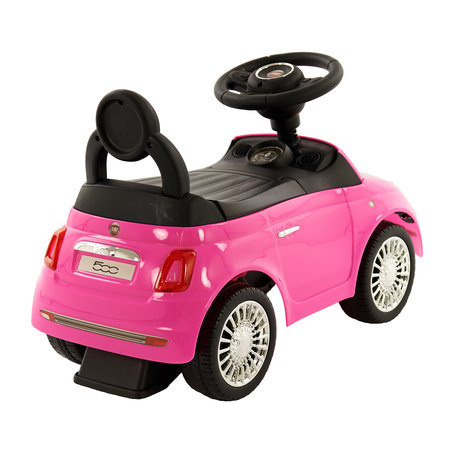 2Cycle Fiat 500 Loopauto - Roze