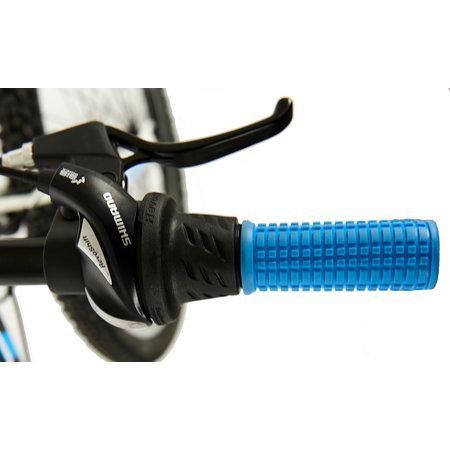 Kron Kron Ares 4.0 MTB - 24 inch - 21-speed - mat-grijs-blauw