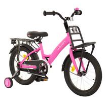 Sajan Kinderfiets - 16 inch - Mat-Roze