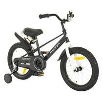 2Cycle Jump Kinderfiets - 16 inch - Zwart