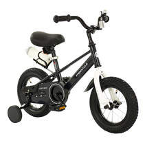 2Cycle Jump Kinderfiets - 12 inch - Zwart
