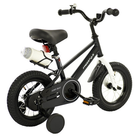 2Cycle 2Cycle Jump Kinderfiets - 12 inch - Zwart