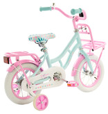 2Cycle 2Cycle Cargo Kinderfiets - 12 inch - Turquoise-Roze