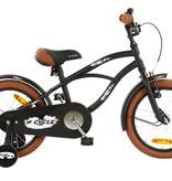2Cycle 2Cycle Cruiser Kinderfiets - 16 inch - Mat-Zwart