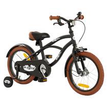 2Cycle Cruiser Kinderfiets - 16 inch - Mat-Zwart
