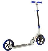 2Cycle 2Cycle Step - Aluminium - Große Räder - 20cm -Blau-Weiß