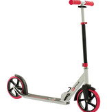 2Cycle 2Cycle Step - Aluminium -  Grote Wielen - 20cm -Roze-Wit