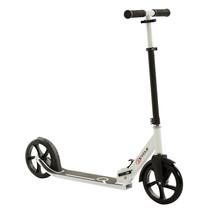 2Cycle Step - Aluminium -  Grote Wielen - 20cm -Zwart-Wit