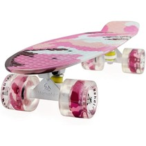 2Cycle Skateboard - LED Wielen - 22.5 inch - Girl