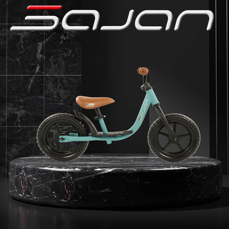 Sajan Sajan Loopfiets - Mat-Turquoise