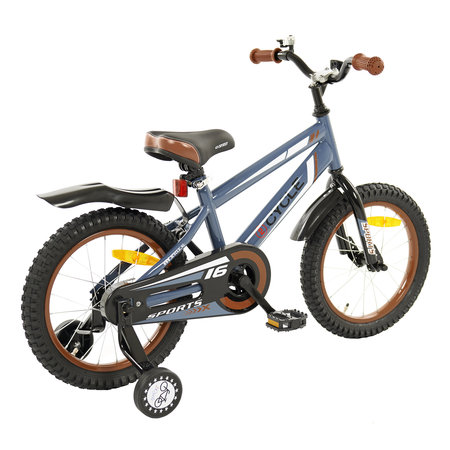 2Cycle 2Cycle Sports Kinderfiets  - 16 inch - Grijs