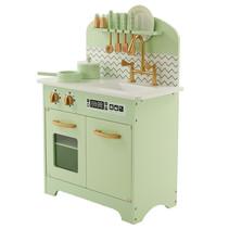 P&M  Kinderkeuken - Hout - Mint-Groen