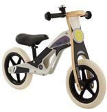 2Cycle 2Cycle Motor  Loopfiets - Hout - Zwart-Grijs
