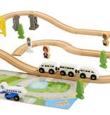 P&M Holzeisenbahn 44 Stück