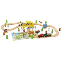 Holzeisenbahn 75 Stück