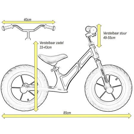 Sajan Sajan Laufrad - Aluminium - Gelb