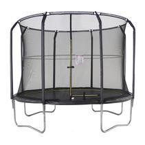 P&M Trampoline SKY Ø305 cm - Met Veiligheidsnet - Zwart