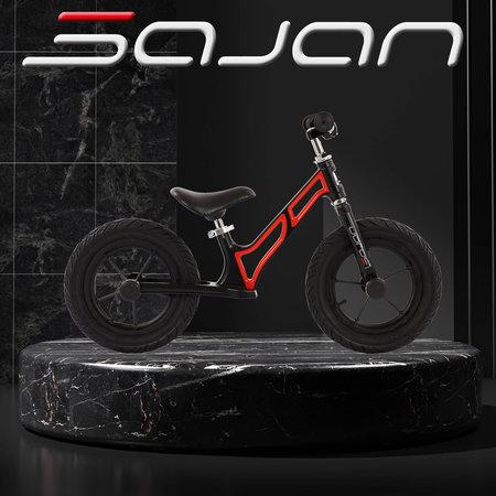 Sajan Sajan Loopfiets - Aluminium - Rood