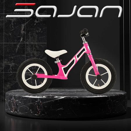 Sajan Sajan Loopfiets - Aluminium - Roze
