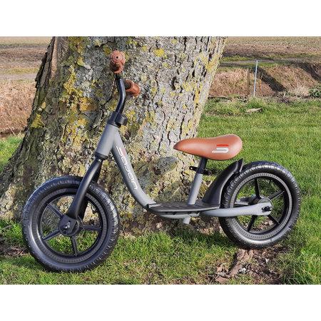 Sajan Sajan Fahrrad, Laufrad, Lauffahrrad Kinderfahrrad für 2-4 Jahr Laufräder, Jungen, Mädchen, Baby, Mattgrau