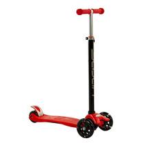 Sajan Kinderscooter - Dreiradscooter  - LED-Räder - Rot
