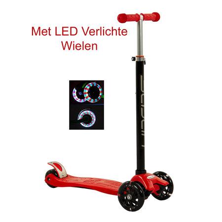 Sajan Sajan  Step - LED Wielen - Rood