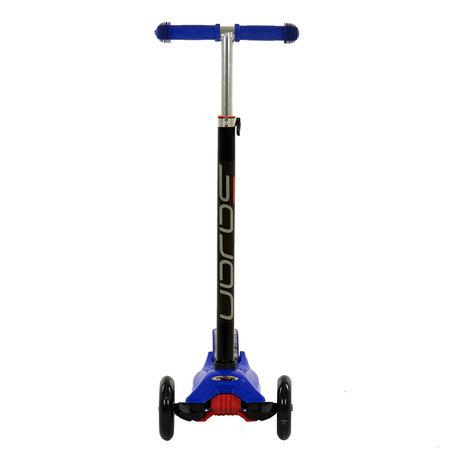Sajan Sajan  Kinderscooter - Dreiradscooter  - LED-Räder - Blau