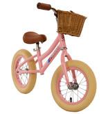 2Cycle Mandje Riet Bruin voor Loopfiets