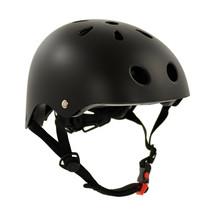 Sajan Fahrradhelm - Skathelm - Helm mattschwarz -  Größe-S