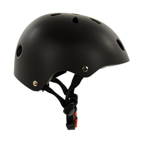Sajan Sajan Fietshelm - Skatehelm - Helm Mat-Zwart - Maat-S