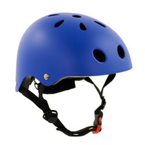 Sajan Fietshelm - Skatehelm - Helm Mat-Blauw - Maat-S
