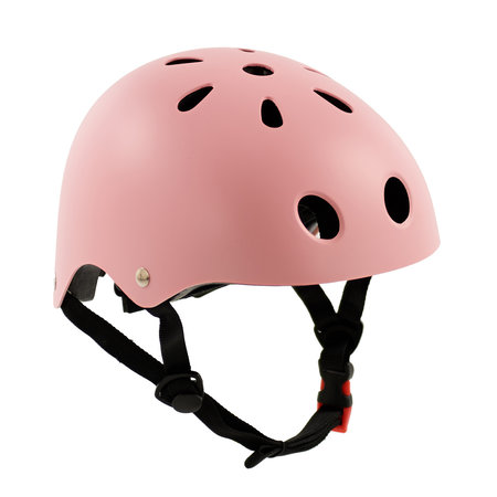 Sajan Sajan Fietshelm - Skatehelm - Helm Mat-Roze - Maat-S