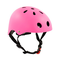 Sajan Fahrradhelm - Skathelm - Helm Mattfuchsia -  Größe-S