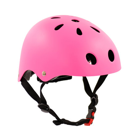 Sajan Sajan Fahrradhelm - Skathelm - Helm Mattfuchsia - Größe-S
