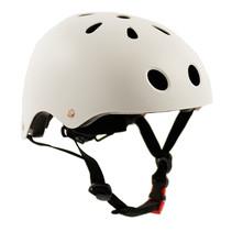 Sajan Fahrradhelm - Skathelm - Helm Mattweiß -  Größe-S