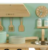 P&M P&M Kinderküche - Holz - Türkis
