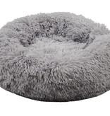 Sajan Sajan Hondenmand 50cm - Donut - Superzacht - Wasbaar - Lichtgrijs